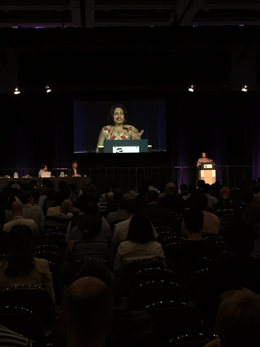 Dr. Sunita Maheshwari giving us a clinician&#39;s perspective on AI for medical diagnosis #miccai2017 <br>http://pic.twitter.com/jyrRoexNPl