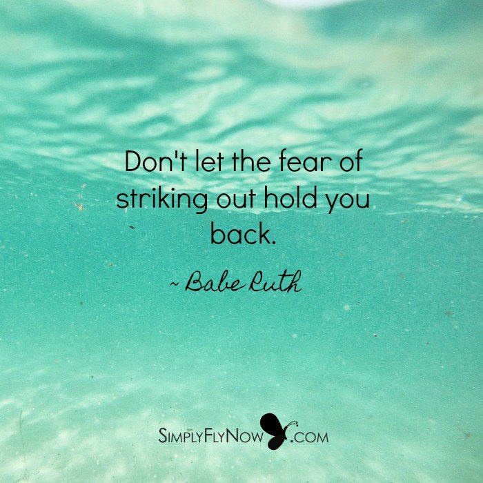 Fear seems so real but the truth is... it&#39;s NOT truly yours!  https:// simplyflynow.com/blog/conquerin g-fear-2 &nbsp; …   #SimplyFlyNow #SmallBiz #entrepreneurs #SuccessTRAIN<br>http://pic.twitter.com/SECz7jkvuF