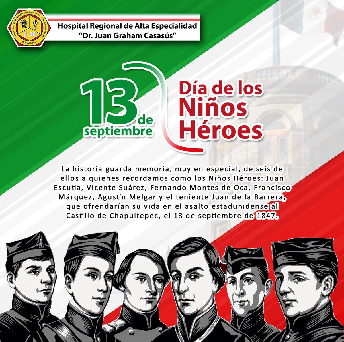 13 de septiembre dia de los ninos heroes