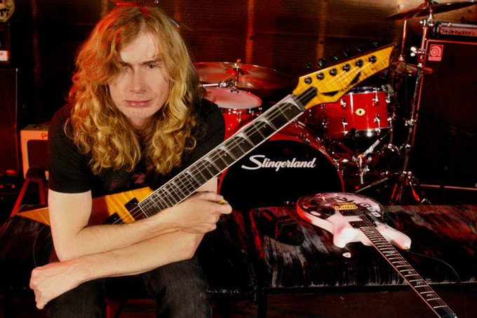 Happy birthday Dave Mustaine-.Buon compleanno