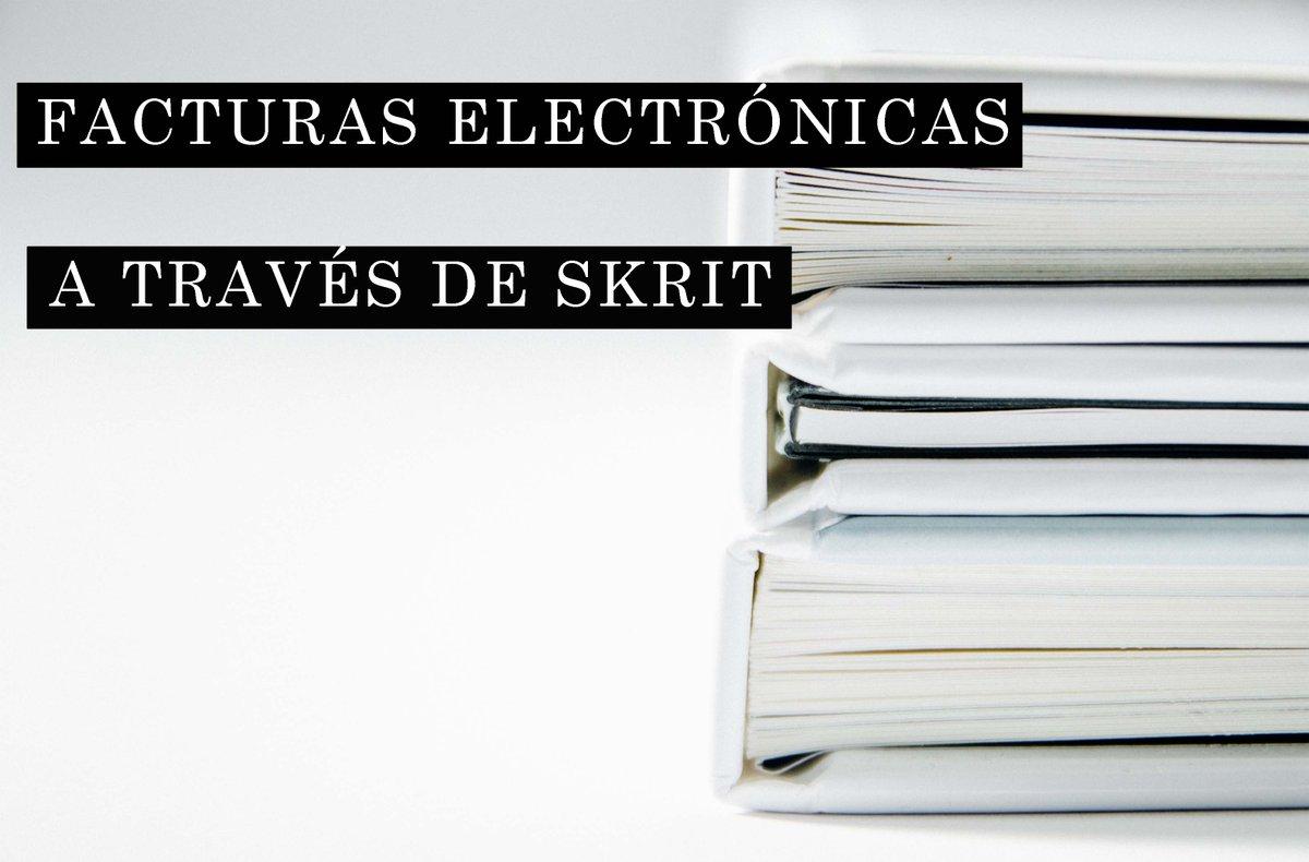 La semana pasada os explicábamos qué eran las facturas electrónicas. Hoy os explicamos cómo hacerlas con #Skrit.