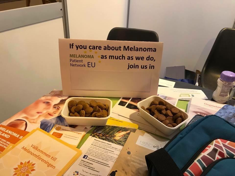 This should have got an award for best sign at #esmo2017 #PatientAdvocacy #Melanoma<br>http://pic.twitter.com/C2xRhcXTta
