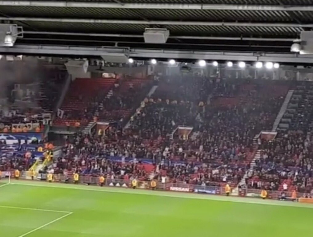 The return of champions league nights at Old Trafford can only mean one thing.... #emptyseats #mufc #ucl #championsleague #mcfc<br>http://pic.twitter.com/SRKL5ZupxB