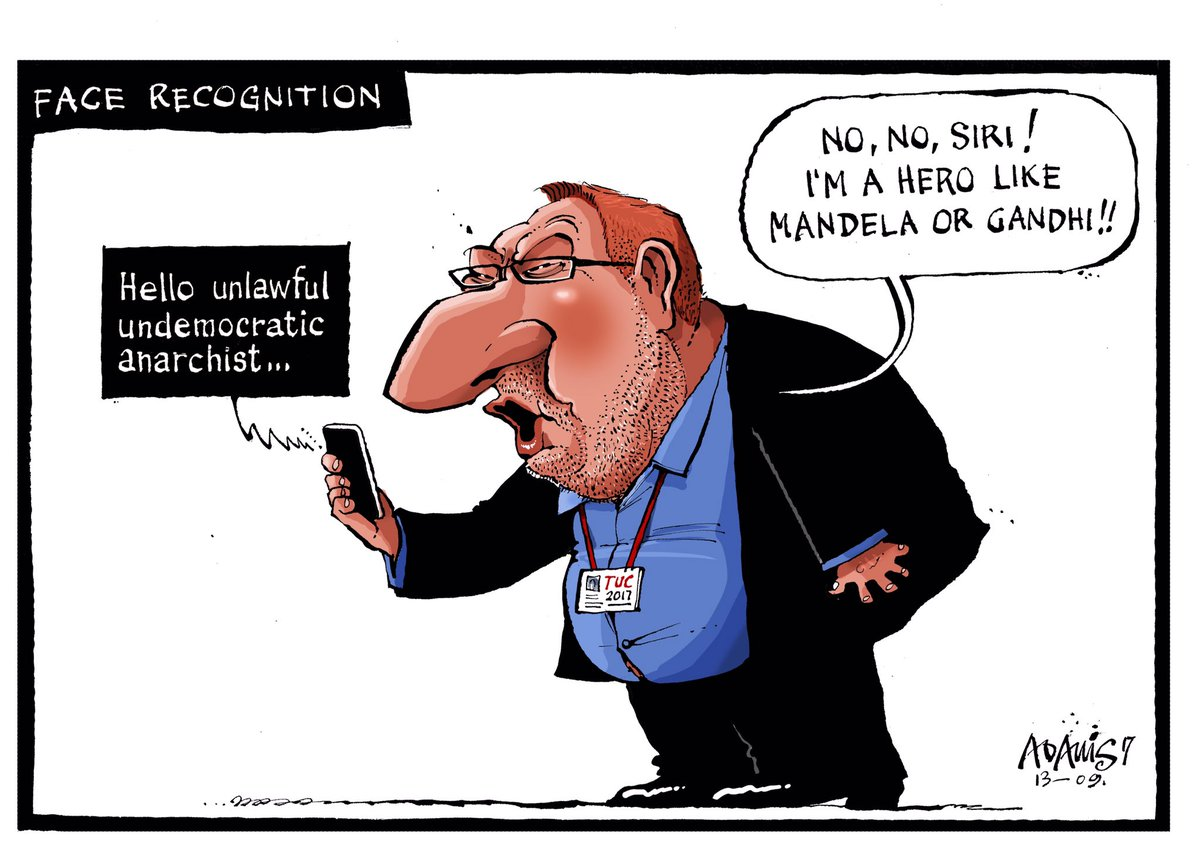 Our @Adamstoon1 @EveningStandard on Len McCluskey and his new iPhone h...