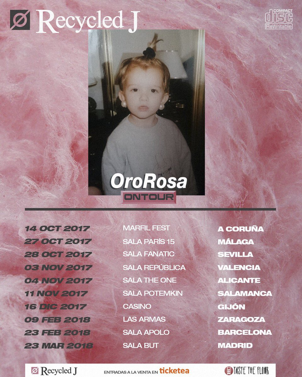 oro rosa recycled j