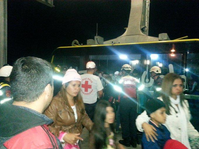 Desalojado de emergencia teleférico de Mérida Mucumbarí por falla eléctrica