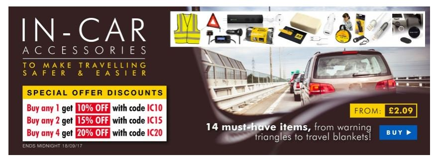 Save at least 10% on In-Car Autumn Accessories  http:// ow.ly/cMxr30f69EV  &nbsp;   #RT #Follow #Win Share #MultiBuy  any 2/4 get 15/20% off @the_AA<br>http://pic.twitter.com/kzABO52AXJ