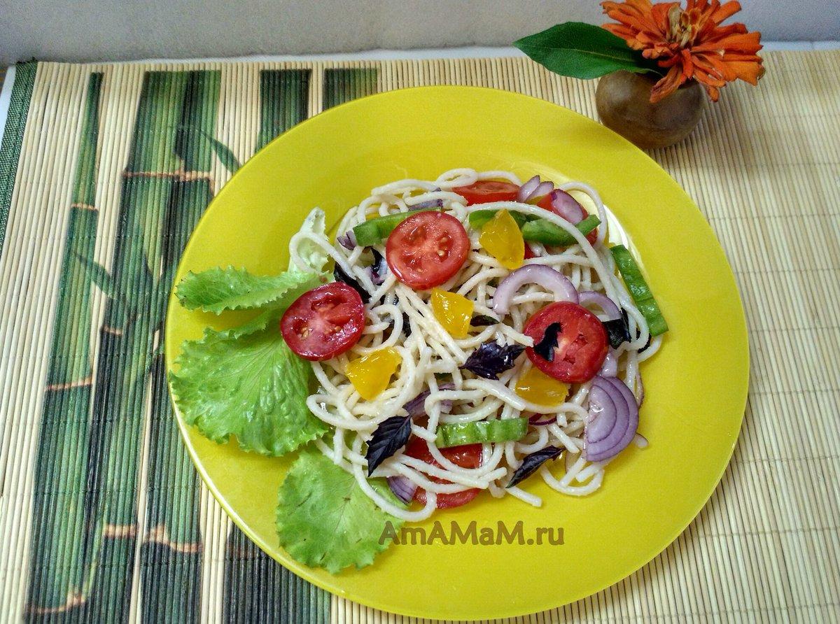 Рецепты салат из креветок