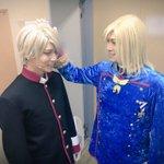国王である父上に褒められて喜ぶ第二王子カイ。父上…好き…(´v`o)大阪公演が近づいております!#王…