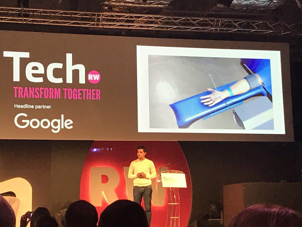 Fascinating product developed to train surgeons digitally via @Jean_Ne...