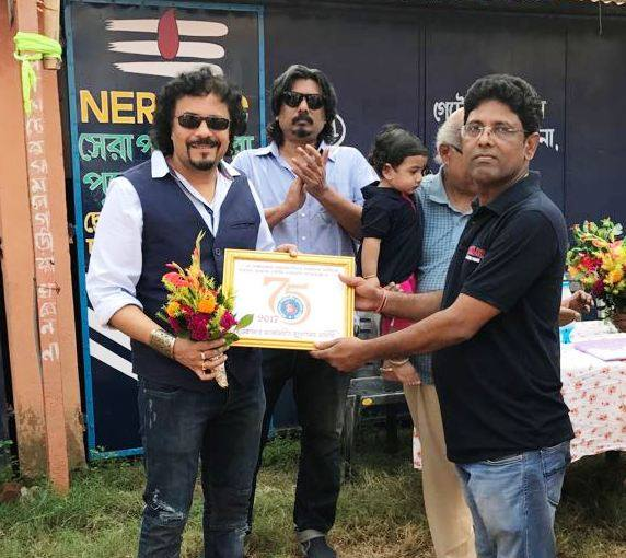 Pleased to have been the brand ambassador of @NerolacSPSP for the third consecutive year ! Judging the murals in Durgapur today! https://t.co/2DbkVsJUdb