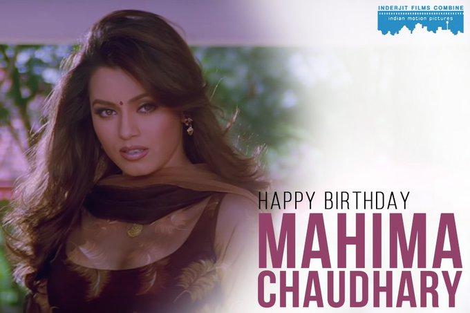 Happy Birthday to the charismatic Mahima Chaudhary!