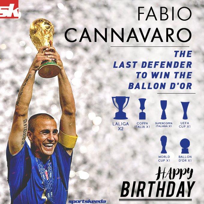 Happy Birthday Fabio  One of the greatest defenders ever!