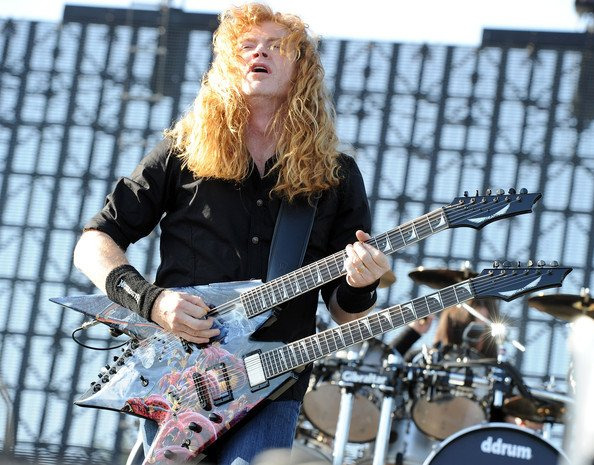 BraveWords666: Happy Birthday Dave Mustaine (MEGADETH, METALLICA), who was brought up as a Jehovah\s Witness.