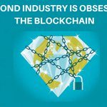 Image for the Tweet beginning: #Blockchain tech could well be