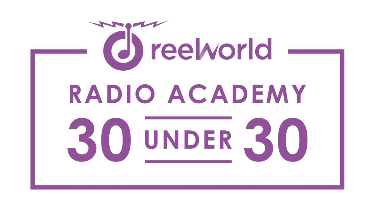 Really great to see so much talent being acknowledged today @radioacad...