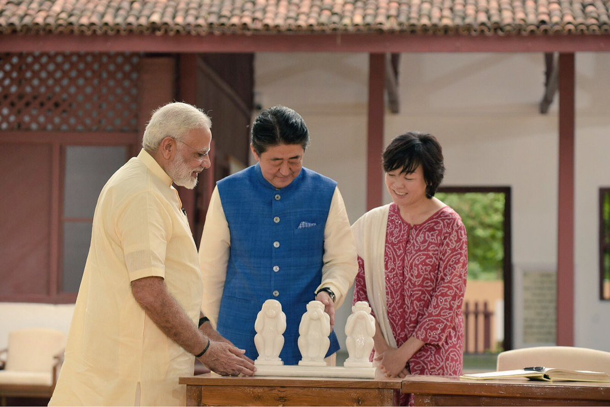 Highlights of Abe – Modi Gujarat visit