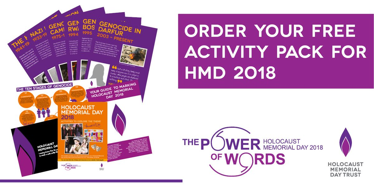 holocaust memorial day trust on twitter the hmd2018 activity pack
