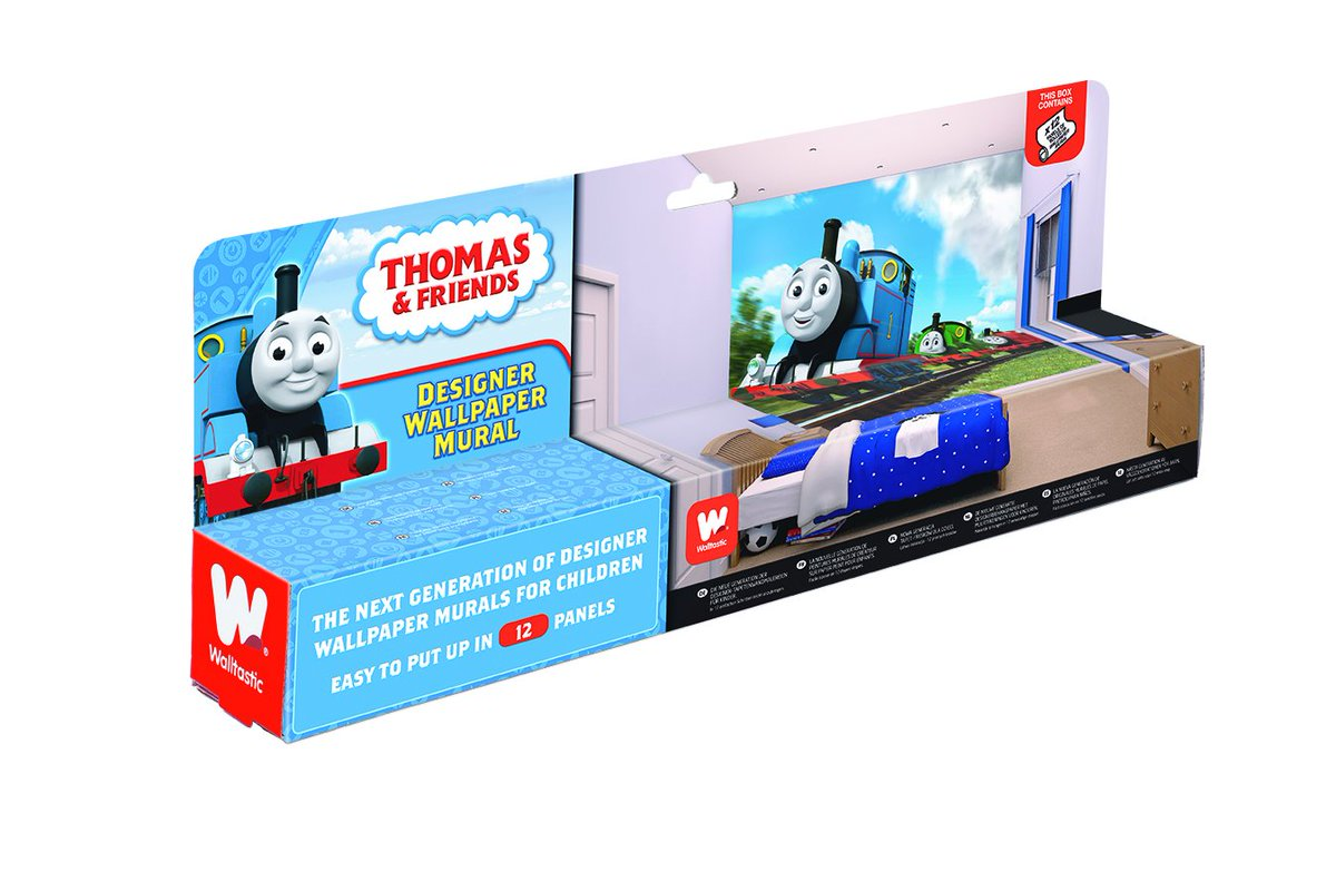 Thomas The Train Wall Mural Home Design Ideas