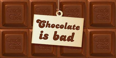 ...But only in Candy Crush Saga #InternationalChocolateDay https://t.c...
