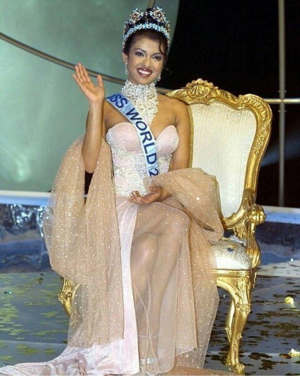 Pageantbuzz On Twitter Priyanka Chopra Miss World 2000 From