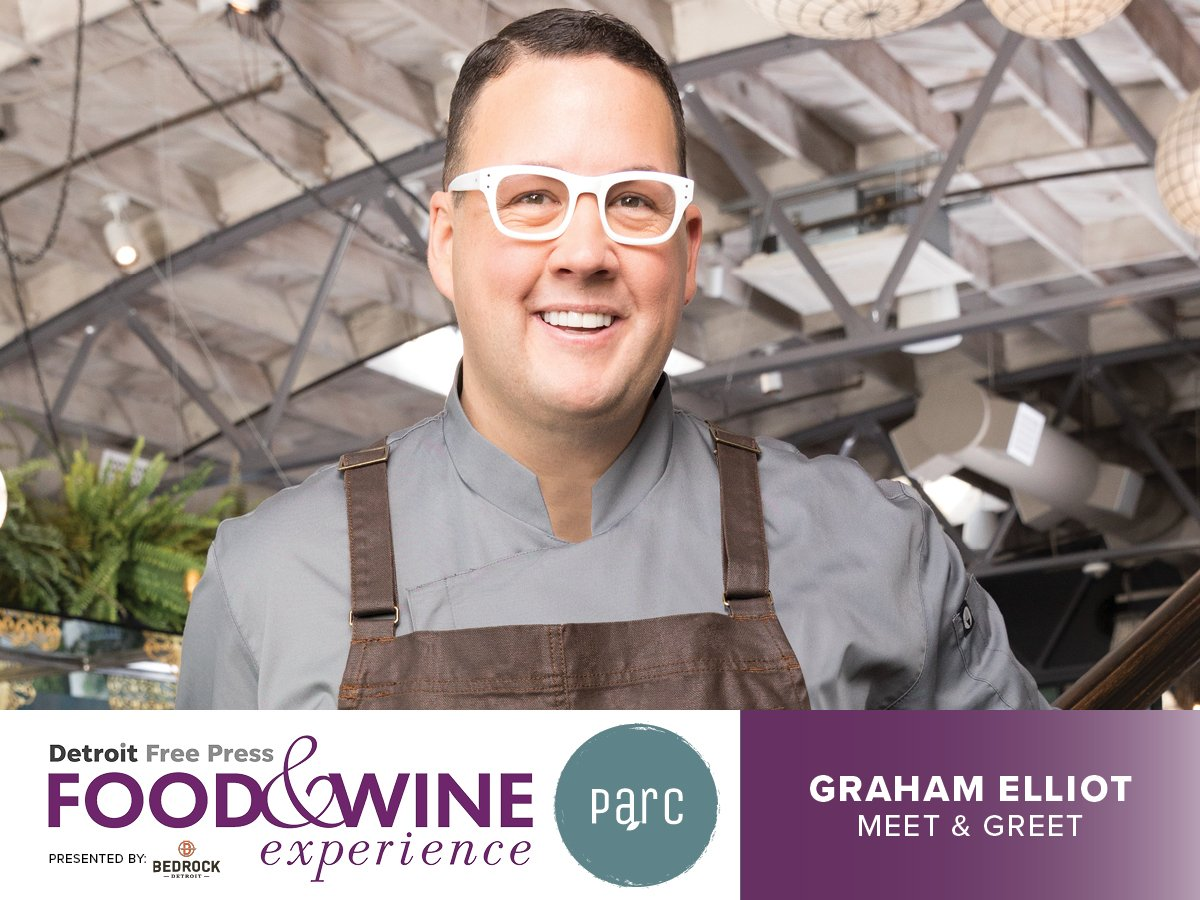 Parc detroit on twitter have tickets to meet celebrity chef graham parc detroit on twitter have tickets to meet celebrity chef graham elliot saturday at detroitfwe were pumped to host his meet greet inside parc m4hsunfo