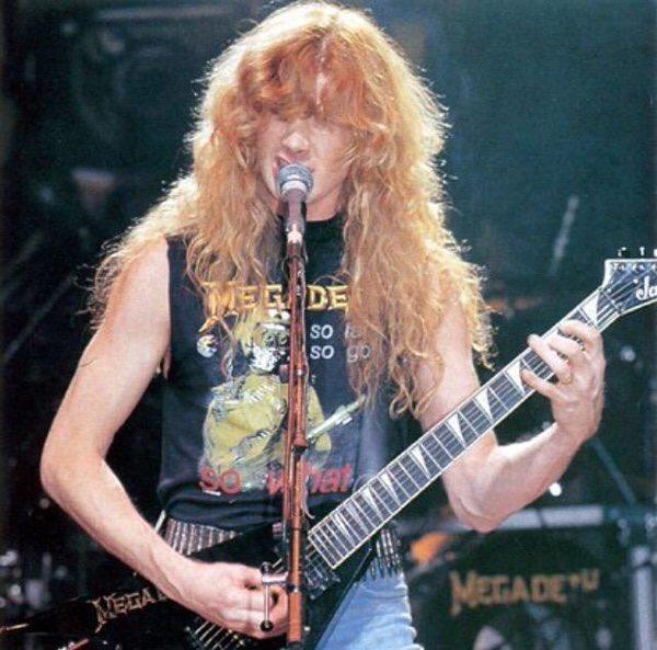 Happy 56th Birthday to legendary guitarist Dave Mustaine!