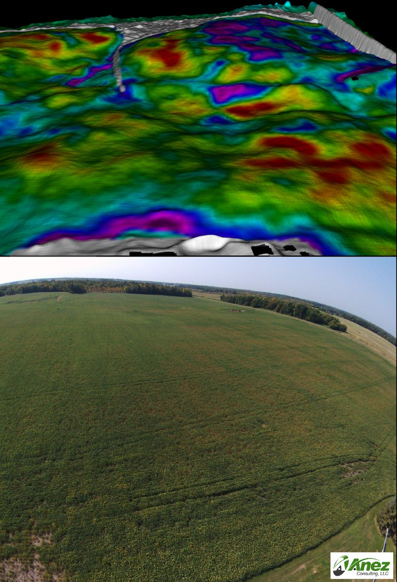 Delineating white mold w/ before &amp; after #NDVI . More consistent than one NDVI map alone @GKTechInc  @UMNExt @ParrotAg<br>http://pic.twitter.com/suRnvngBva
