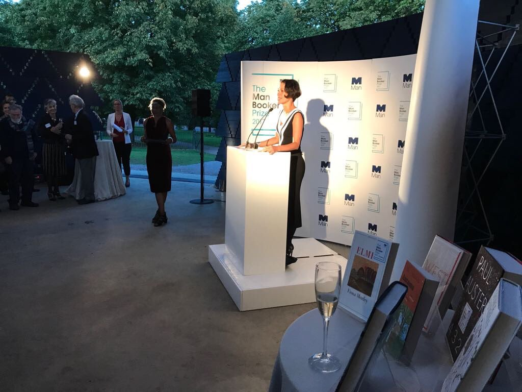 Our literary director @woodgaby congratulates all the #ManBooker2017 s...