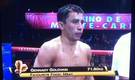 It's hard to pick against a fighter who lists his favorite food as meat #CaneloGGG https://t.co/BI1y2msTAh