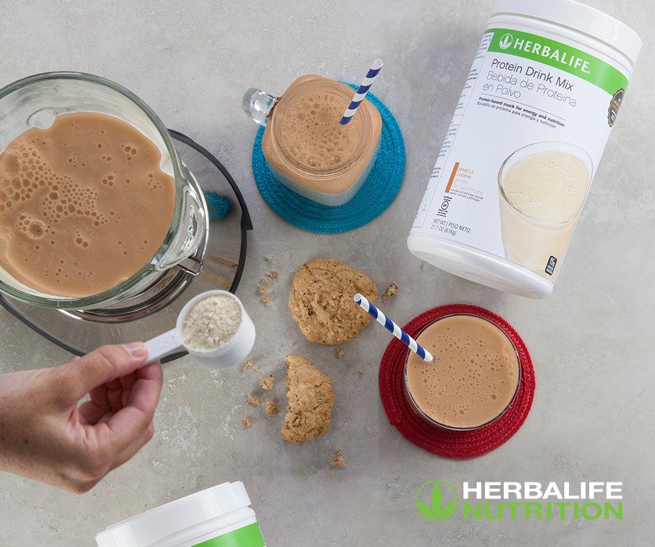 Anyone else adding Peanut Cookie to their #HerbalifeShake today? #Nati...