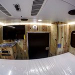 Check out the inside of this custom short-bed Cowboy camper! #capricamper #truckcamper #Wednesday