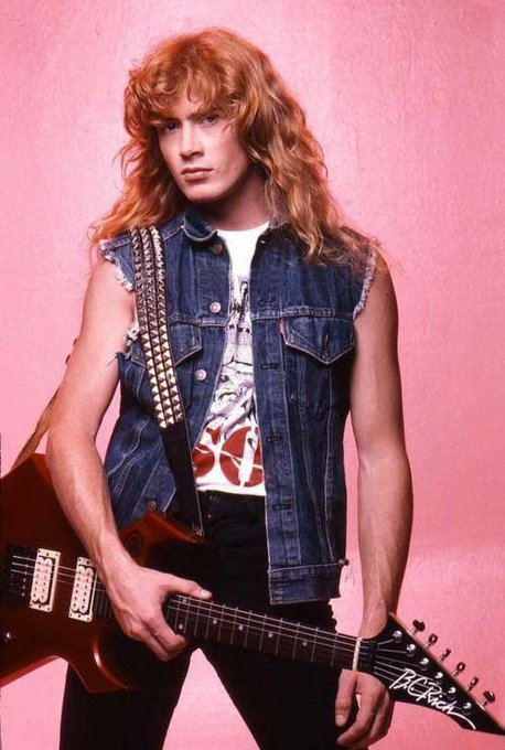 Happy birthday to lead singer, Dave Mustaine!