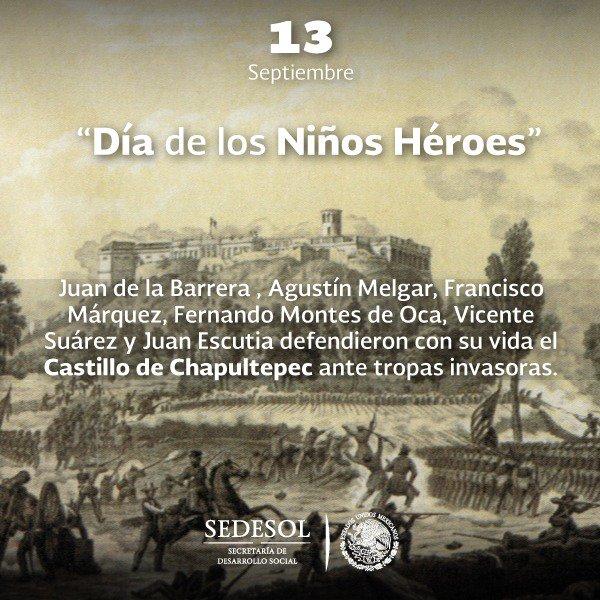 Hoy conmemoramos el 170 Aniversario de la gesta heroica de los 'Niños...