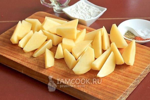 Рецепт картофель запеченный со сметаной