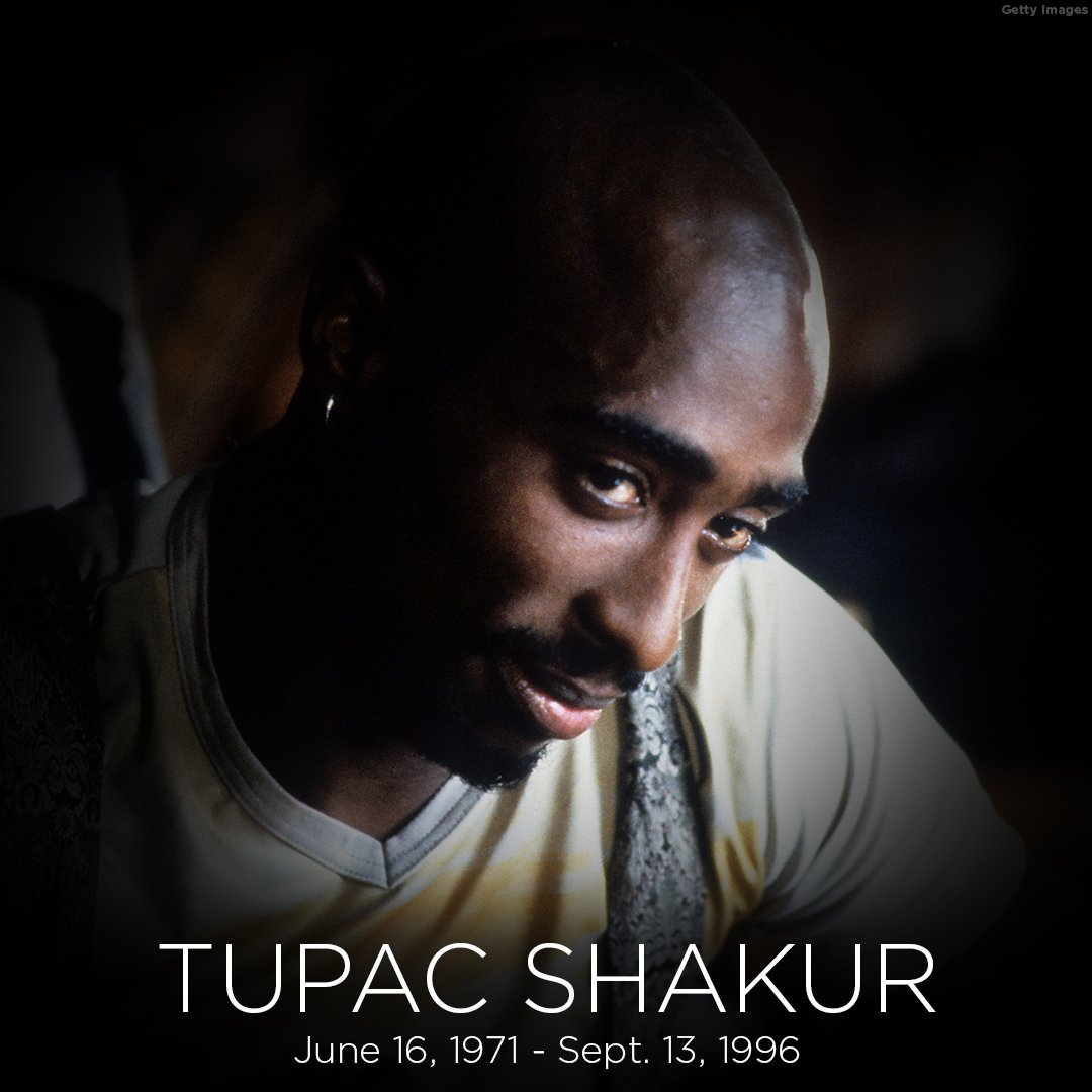 Remembering #TupacShakur: The iconic rapper died on this day in 1996 h...