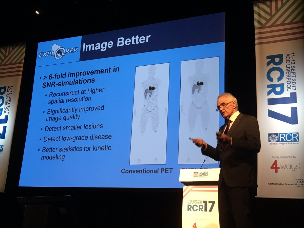 Imperialnhs Pat Price Ucdavis Terry Jones Session Detailing The Realisation Of Changing Whole Body Pet Ct Wowed Rcr17conf