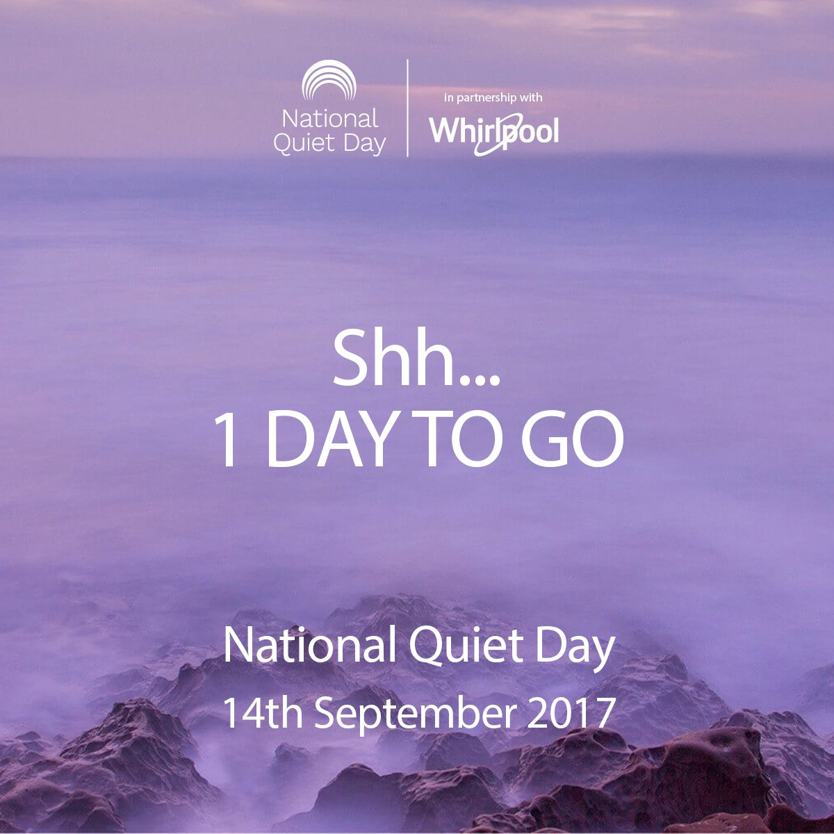 1 day to go... PLUS don&#39;t miss out on the chance to win a Supreme Care Washing Machine tomorrow. RT with #NationalQuietDay <br>http://pic.twitter.com/EvgFiIxWcm