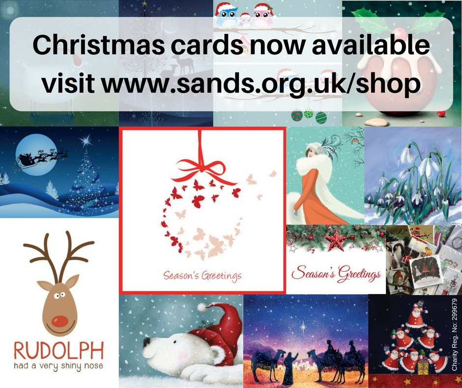 sands on twitter our 2017 sands christmas cards are out get them here httpstcorg1uvt3j7l - Christmas Cards For Charity 2017