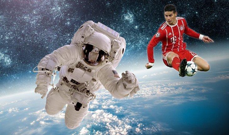 Selon les dernières informations de la NASA, James Rodriguez devrait atterrir dans la soirée.