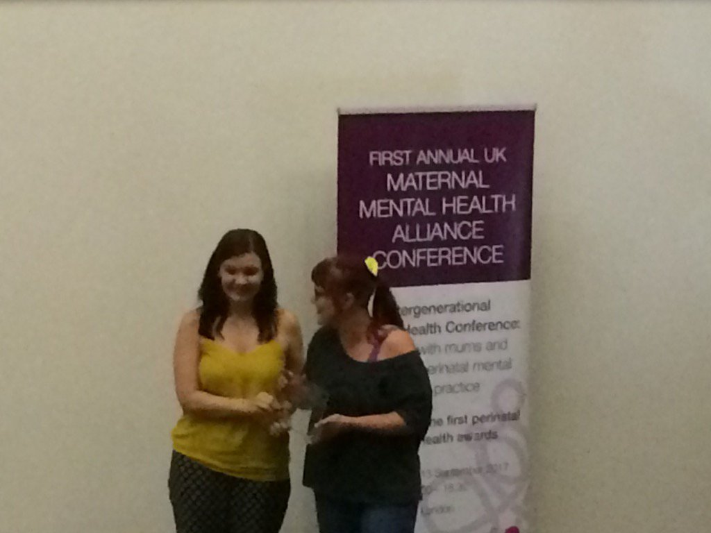 Congratulations @MMHScot ! Winners of #MMHAConf17 Anti #Stigma Award!...