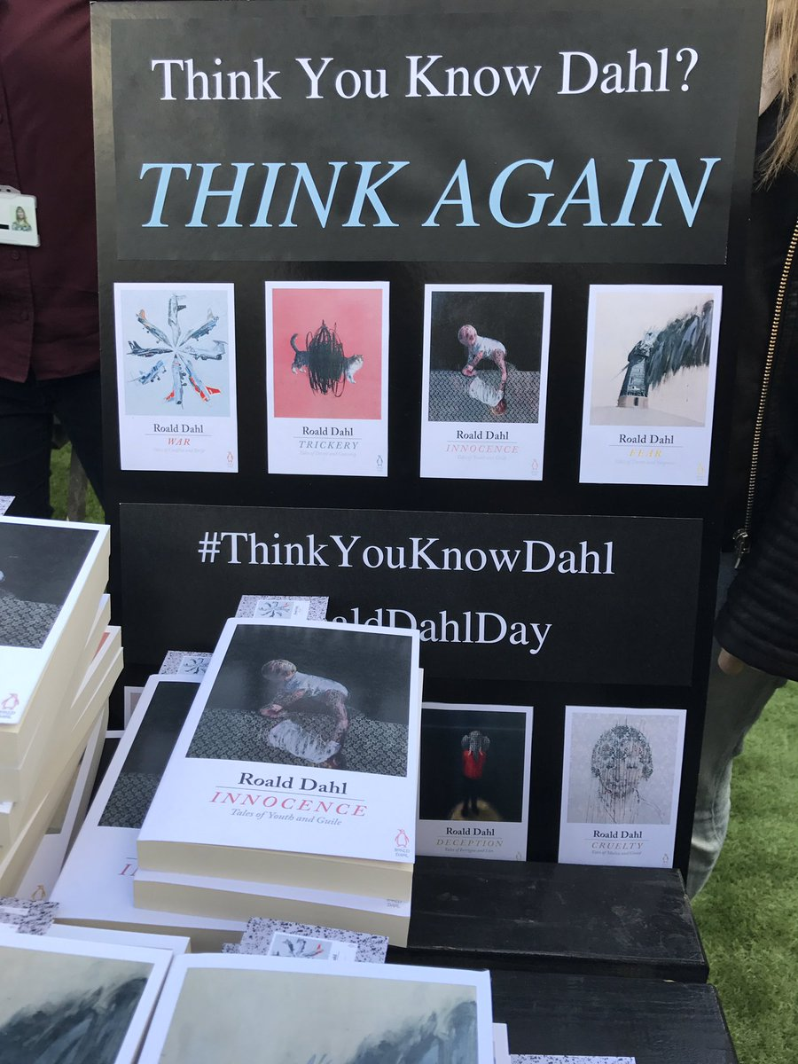 Michael Joseph On Twitter Were At Boxpark Giving Away Free Copies Of Roald_dahls Adult Short Stories For Roalddahlday Thinkyouknowdahl