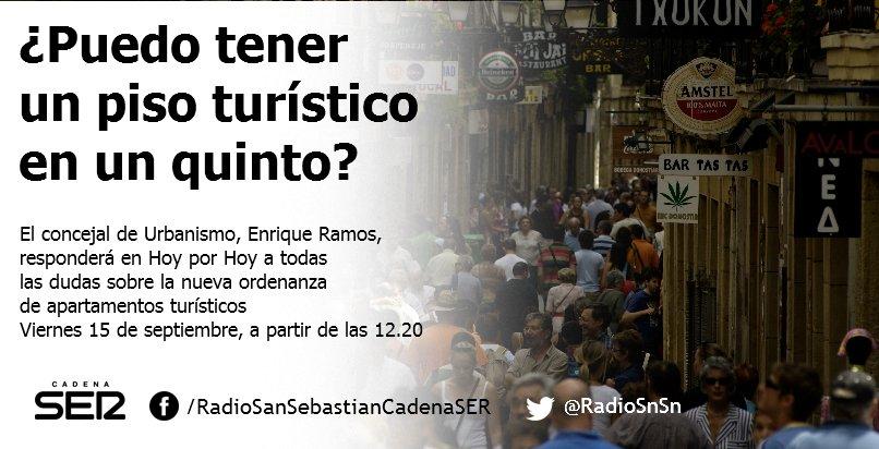 Radio san sebasti n radiosnsn twitter - Apartamentos turisticos en san sebastian ...