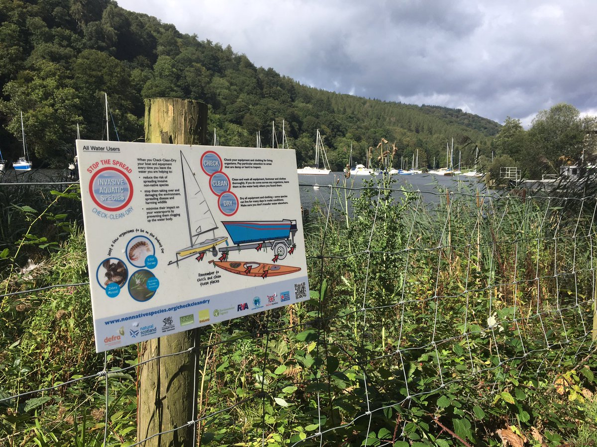 Planning a trip to #LakeWindermere or any water course - Always #CheckCleanDry your equipment to #StopTheSpread of #InvasiveSpecies <br>http://pic.twitter.com/UTSkfmuFGm