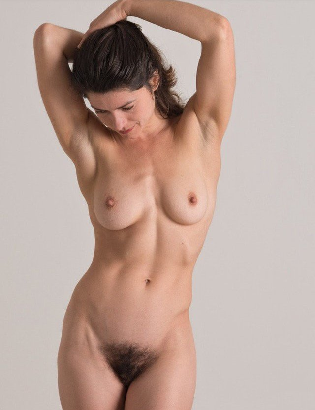 Young breasts and pubic hair