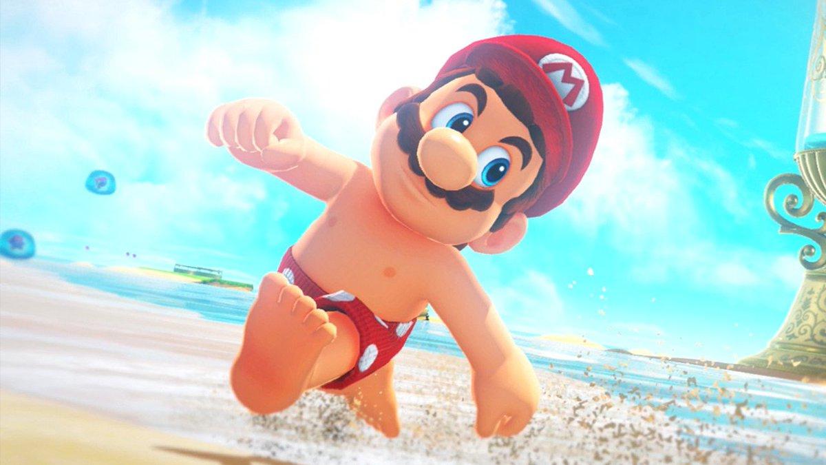 CONFIRMED: Mario Has Nipples
