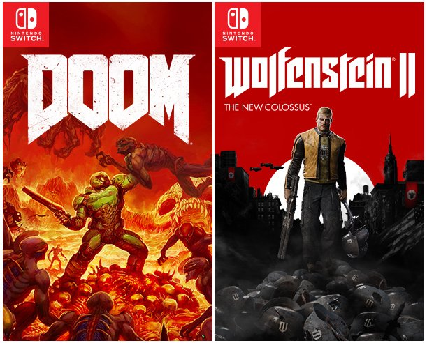 Wolfenstein 2: The New Colossus и DOOM