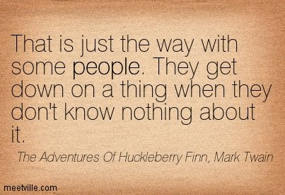 Huckleberry Fin Wise words ever said  #innovation #industry4europe #industry40 #DataScientistV2 <br>http://pic.twitter.com/q3zbLgJpd0