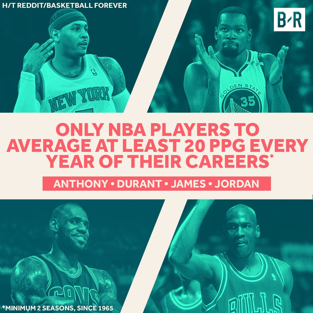 僅得四人每個賽季場均20+?