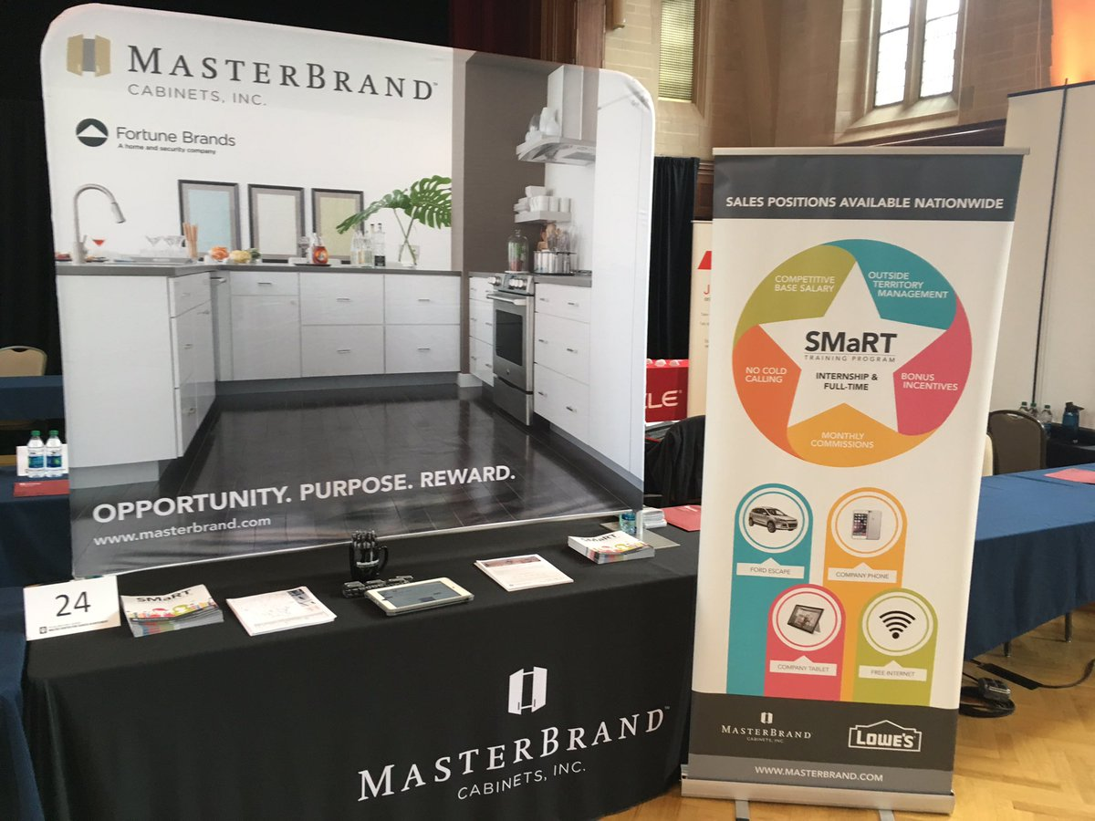 Masterbrand Cabinets Careers On Twitter We Are Excited To Meet Iu Coas Students Stop By Our Booth 24 Learn About Smart Training Program